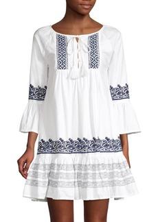 Roller Rabbit Mona Border Maricruz Cotton Dress