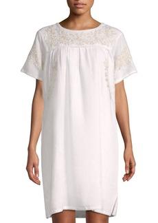 Roller Rabbit Neapolitan Archipelago Vivan Linen Shift Dress