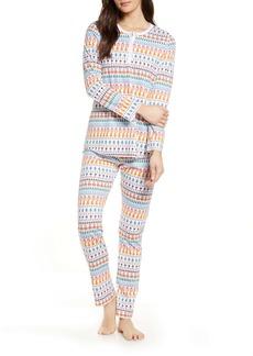 Roller Rabbit Bands Weave Pajamas