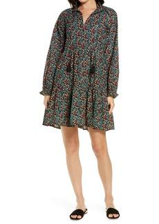 Roller Rabbit Etoiles Janni Long Sleeve Shift Dress