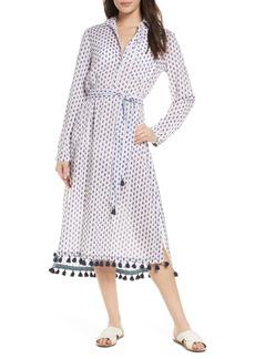 Roller Rabbit Pema Denae Kurta Cover-Up Shirtdress