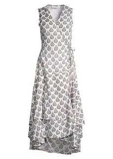 Roller Rabbit Sunshower Fillippa Wrap Dress