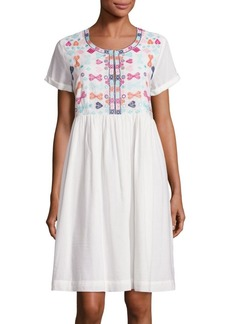Roller Rabbit Sylvie Embroidered Dress
