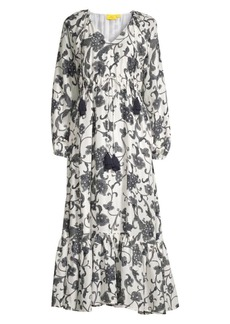 Roller Rabbit Twlight Floral Midi Coverup