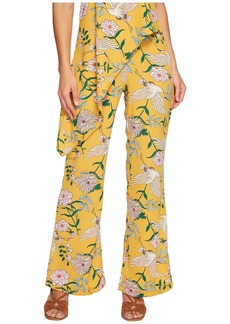 Romeo & Juliet Couture Bird Print Wide Pants