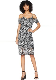 Romeo & Juliet Couture Bodycon Floral Lace Dress