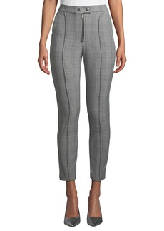 Romeo & Juliet Couture Check Tapered Ankle Trousers