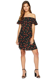 Romeo & Juliet Couture Cherry Motif Midi Dress