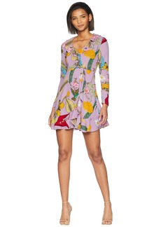 Romeo & Juliet Couture Floral Ruffle Mini Dress