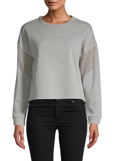 Romeo & Juliet Couture Fringe-Trimmed Sweater