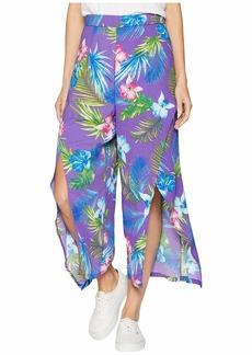 Romeo & Juliet Couture Front Slit Pants