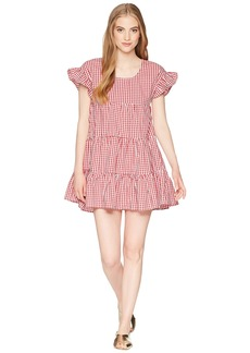 Romeo & Juliet Couture Gingham Tiered Dress