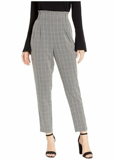Romeo & Juliet Couture High-Waist Check Pants