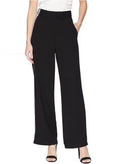 Romeo & Juliet Couture High-Waist Wide Leg Pants with Striped Side