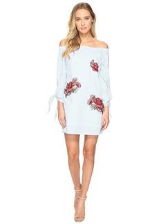 Romeo & Juliet Couture Long Sleeve Off Shoulder Dress