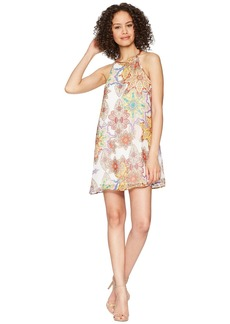 Romeo & Juliet Couture Multicolor Print Dress