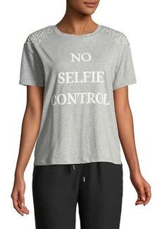 Romeo & Juliet Couture No Selfie Control Short-Sleeve Tee