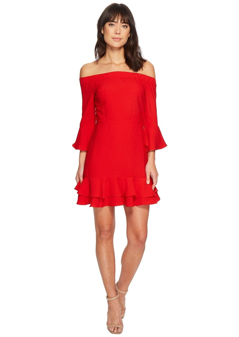 Romeo & Juliet Couture Of-the-Shoulder Ruffle Dress
