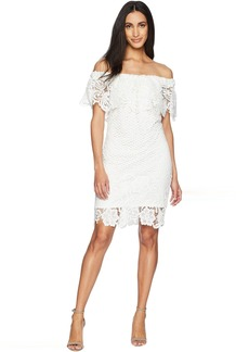 Romeo & Juliet Couture Off the Shoulder Lace Dress