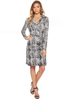 Romeo & Juliet Couture Pattern Wrap Dress