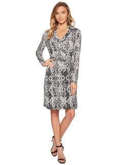 Romeo & Juliet Couture Pattern Wrap Dress