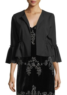 Romeo & Juliet Couture Peplum Hem Jacket