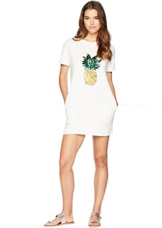 Romeo & Juliet Couture Pineapple Patch T-Shirt