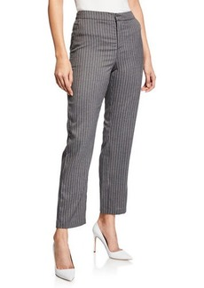 5ba62f555b SALE! Romeo & Juliet Couture Striped Pants with Tie Up Belt Detail