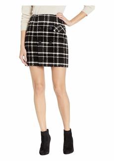 Romeo & Juliet Couture Plaid Mini Skirt