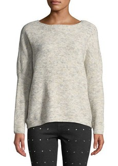 Romeo & Juliet Couture Ribbed Marbled Sweater