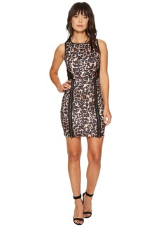 ROMEO & JULIET COUTURE Animal Print with Lace Back Dress