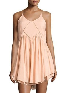 Romeo & Juliet Couture Babydoll Dress with Crochet Detail