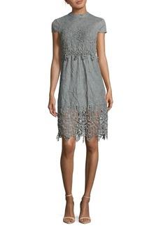Romeo & Juliet Couture Back-Tie Lace Dress