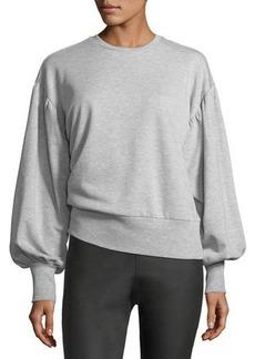Romeo & Juliet Couture Balloon-Sleeve Sweatshirt