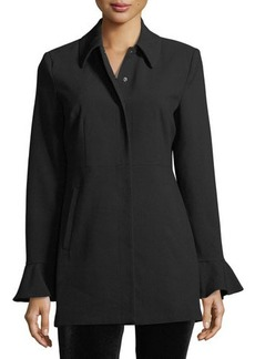 Romeo & Juliet Couture Bell-Sleeve Tailored Jacket