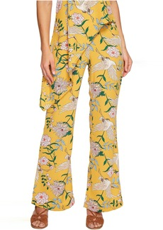 Romeo & Juliet Couture Bird Print Wide Pants