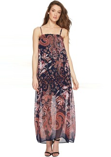 ROMEO & JULIET COUTURE Chiffon Print Maxi Dress