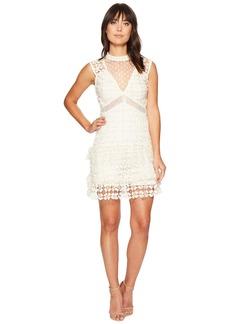 ROMEO & JULIET COUTURE Crochet Solid Color Lace Dress