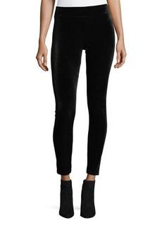 Romeo & Juliet Couture Elastic-Waist Velvet Leggings
