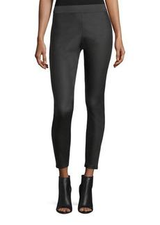 Romeo & Juliet Couture Elastic-Waist Waxed Leggings