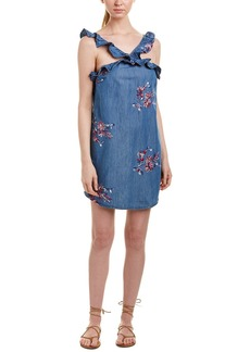 Romeo & Juliet Couture Embroidered Shift Dress