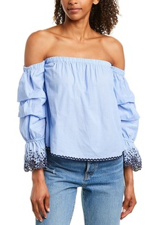 Romeo & Juliet Couture Embroidered Top