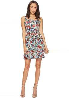 Romeo & Juliet Couture Floral Printed Fit and Flare Dress