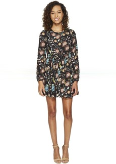 ROMEO & JULIET COUTURE Floral Woven Printed Dress