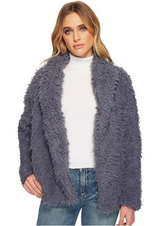 Romeo & Juliet Couture Fluffy Fur Coat