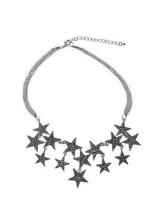 Romeo & Juliet Couture Four-Strand Chain Statement Necklace w/ Pavé Stars