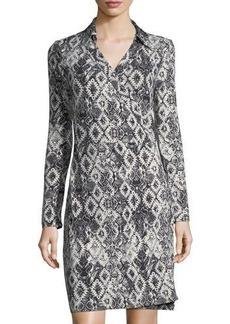 Romeo & Juliet Couture Graphic-Print Wrap Dress