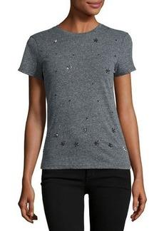 Romeo & Juliet Couture Jersey Short-Sleeve Beaded T-Shirt