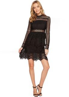 ROMEO & JULIET COUTURE Lace Scallop Hem Dress