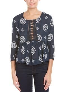 Romeo & Juliet Couture Lace-Trim Top